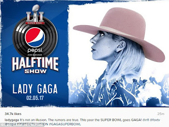 Pop Queen Gaga Headlines Super Bowl