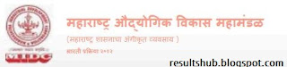 Admit Card MIDC Recruitment 2013