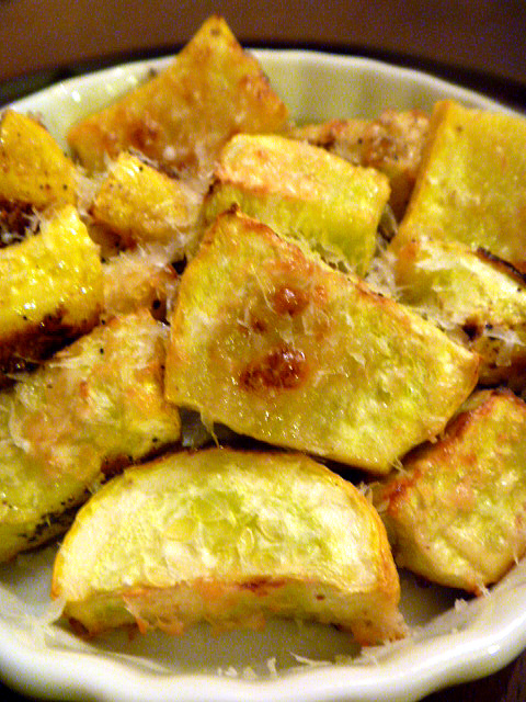 Slice of Southern: Roasted Parmesan Summer Squash