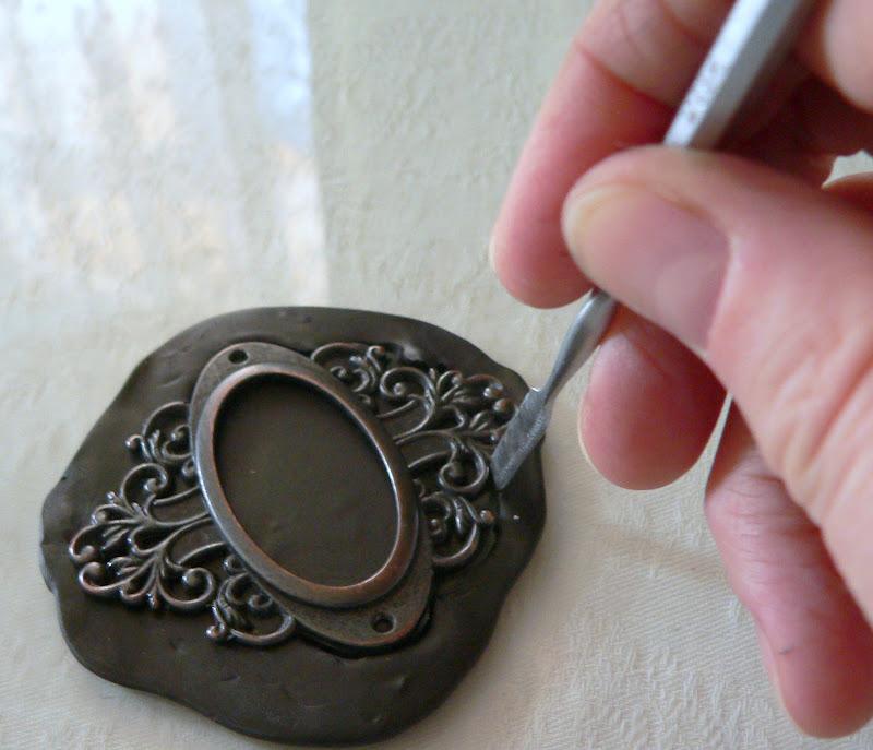 Имитация из полимерной глины своими руками 24