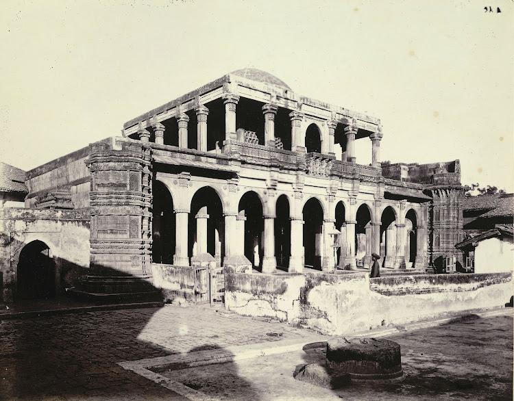 Shaikh Hasan Muhammad Chishti's Tomb, Shahapur, Ahmadabad, Gujarat - 1885