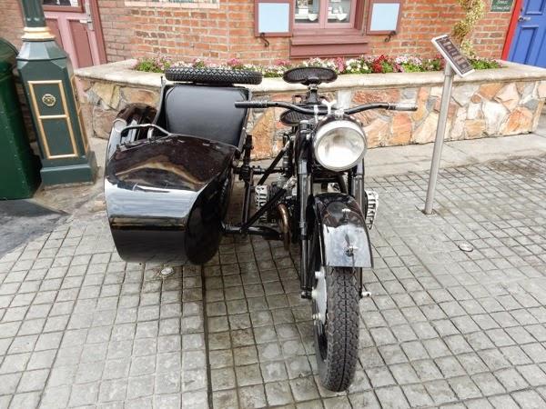Inglourious Basterds movie motorbike