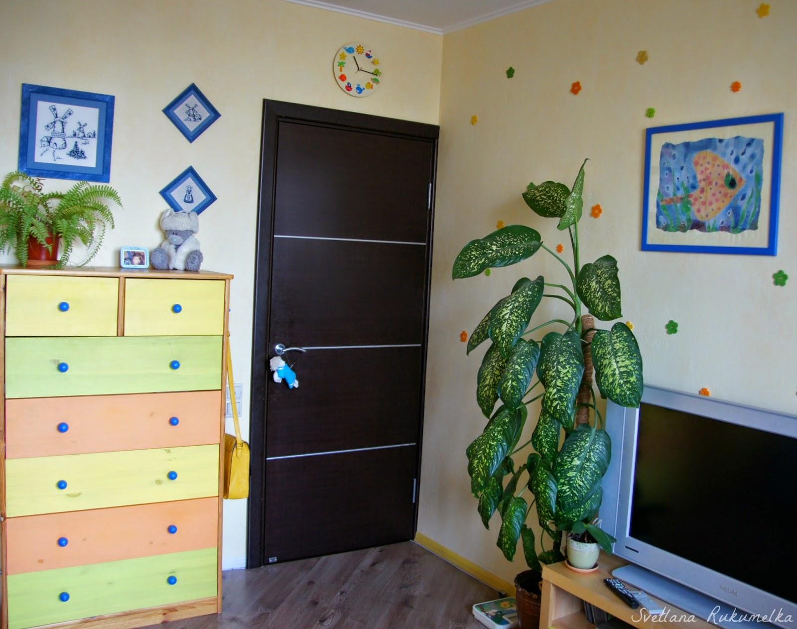 оформляем детскую комнату сами