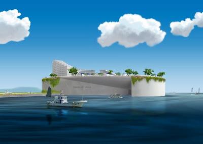 Inilah komplek perkampungan anti tsunami