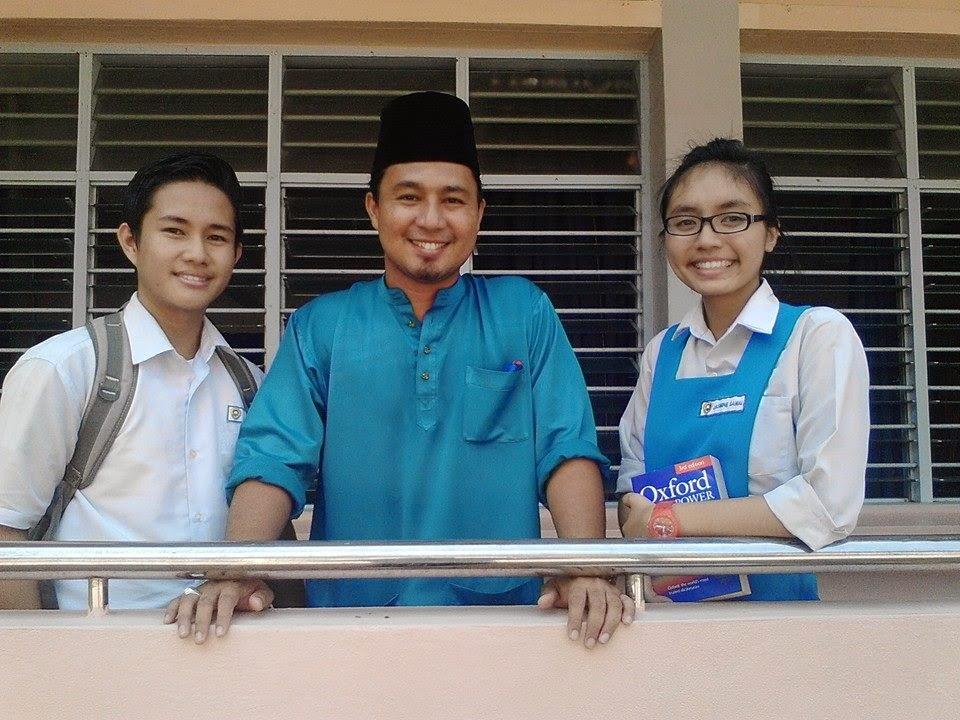 pelajar mentee saya dalam Program Bintang Mencari Bintang, Reemy dan Jasmine