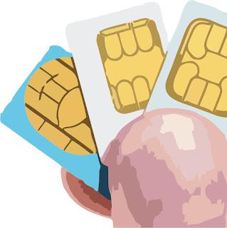 SIM Card atau Kartu SIM atau Kartu Telepn Seluler