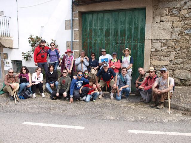participantes de la subida al Berrueco