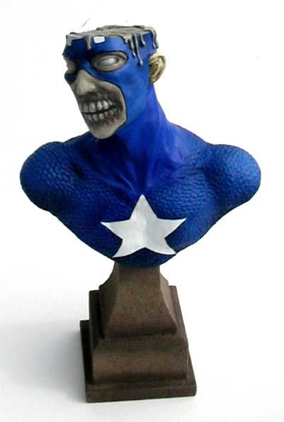 Marvel Zombies Captain America por thebiscuitboy