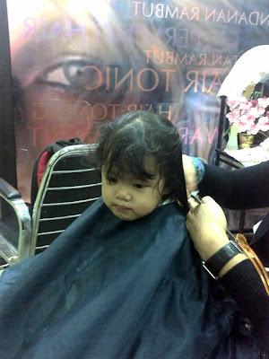 Cemas - Pertama Kali Menggunting Rambut