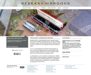 Homepage of Rebekah Brooks