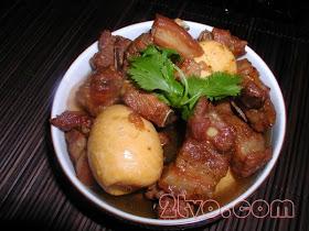 Thịt kho tàu - cách nấu thịt kho tàu thật ngon 1