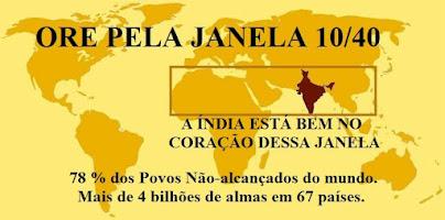 LISTA DE ORAÇÃO PAISES JANELA 10/40