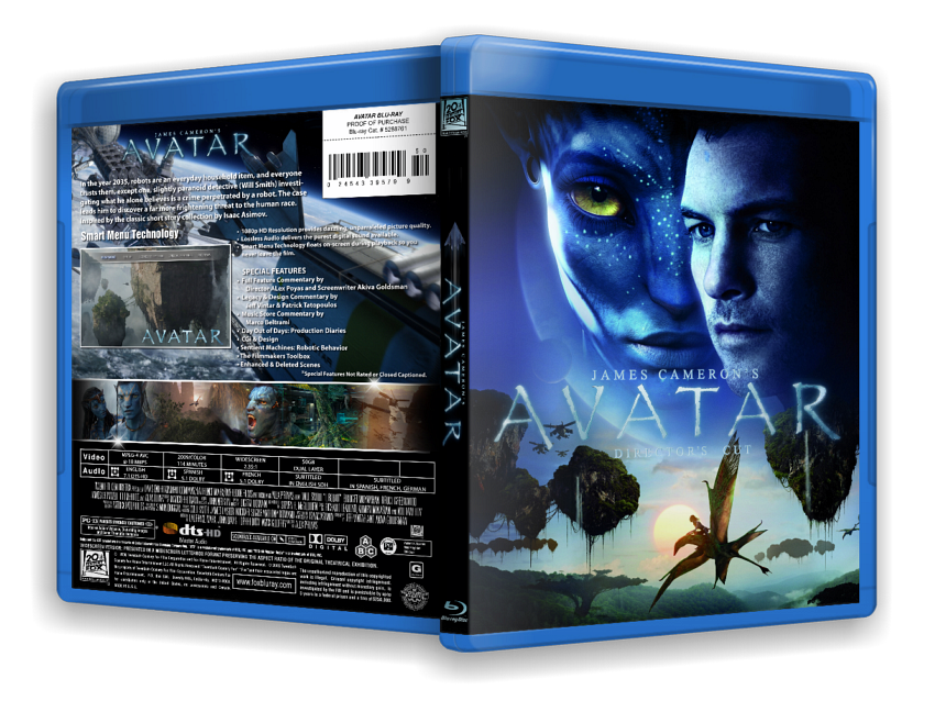Avatar full 3d stereoscopic side by side 1080p x264 mkv 13gb