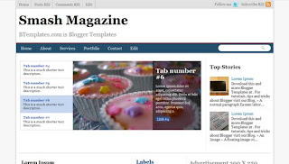 Smash Magazine Blogger Template