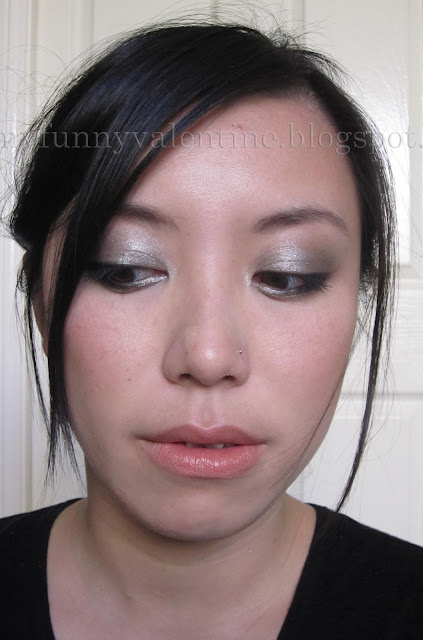 Chanel Fall 2011 runway inspired FOTD with Erika F and OCC lip tar Melange