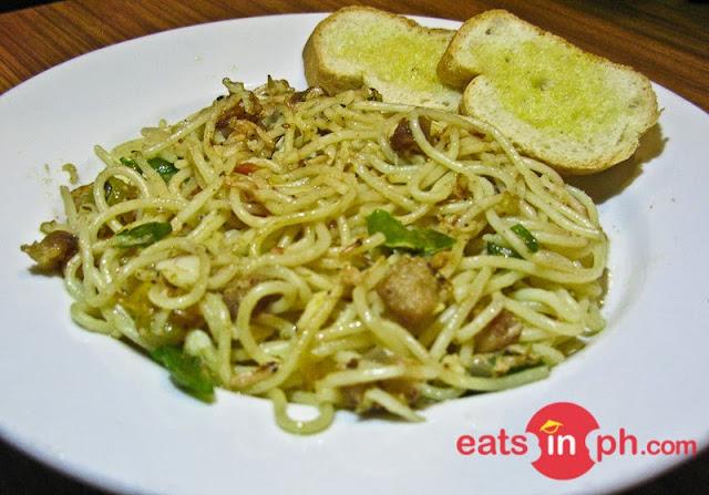 Bicol Express Pasta from Small Talk Cafe in Legazpi City, Albay