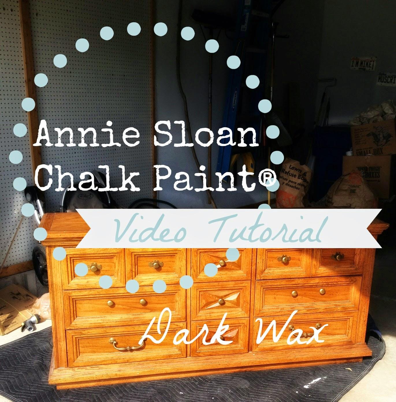 Pretty Distressed Annie Sloan Chalk Paint 174 Video Tutorial