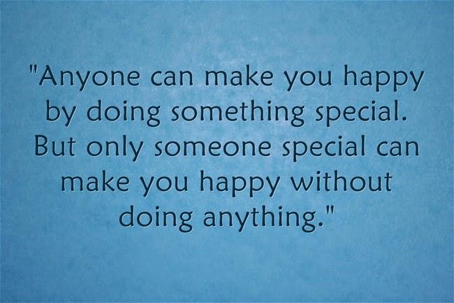 Người đặc biệt không cần làm gì vẫn thấy hạnh phúc