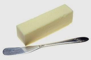 Tabla de calorías-mantequillas, margarinas y otras grasas