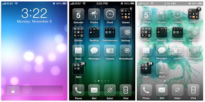 Glasklart HD Winterboard theme