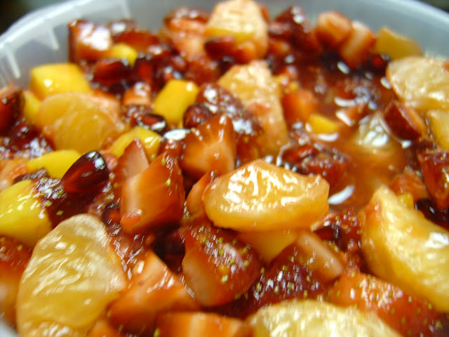 Fruit Salad Recipes: Fruit Salad dressing with Honey Lime juice