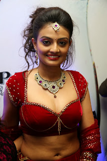 Actress Nikitha Narayan Latest  Pictures in Designer Dress at Fashionology Fashion Show 2013 0003.jpg