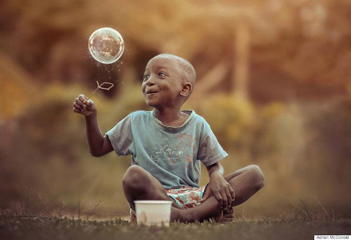 Fotógrafo de Jamaica captura la belleza y la inocencia de la infancia
