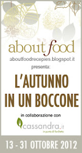 IL CONTEST DI 'ABOUT FOOD'