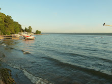 The view of Cayuga Lake...