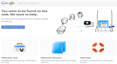 Using Google Webmaster Tools