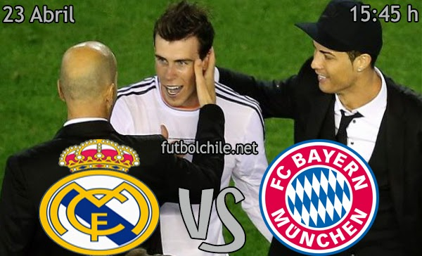Real Madrid vs Bayern München - Champions League - 15:45 h - 23/04/2014