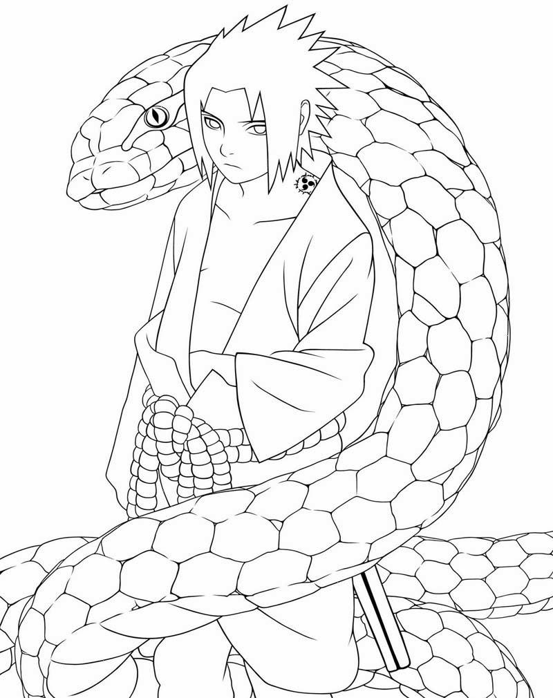 Mewarnai Gambar Naruto | Ayo Mewarnai