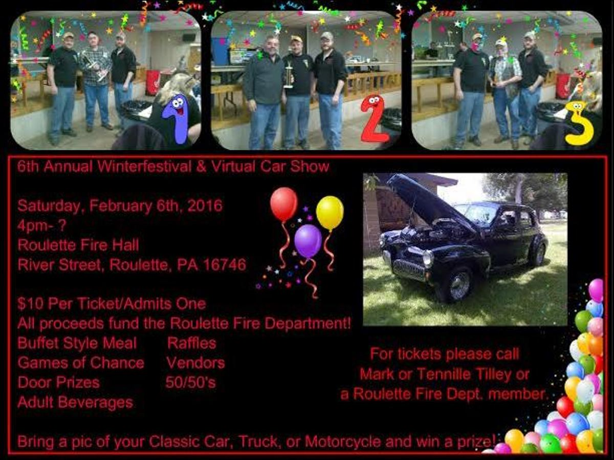 6th Annual Winterfestival & Virtual Car Show