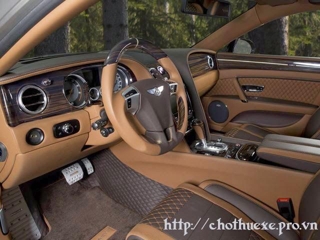 thuê xe cưới hạng sang VIP Bentley Flying Spur giá ưu đãi