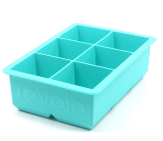 A Cocktail ice Cube Tray for keeping Cocktails Cold but not Watered Down