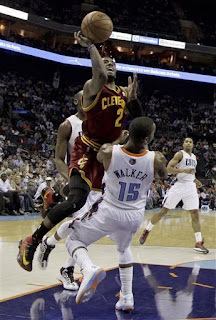 Cavaliers, Cleveland Cavaliers, Kryie Irving, Bobcats, Kemba Walker