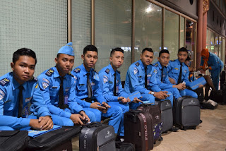 beberapa siswa avsec PSPP Yogyakarta