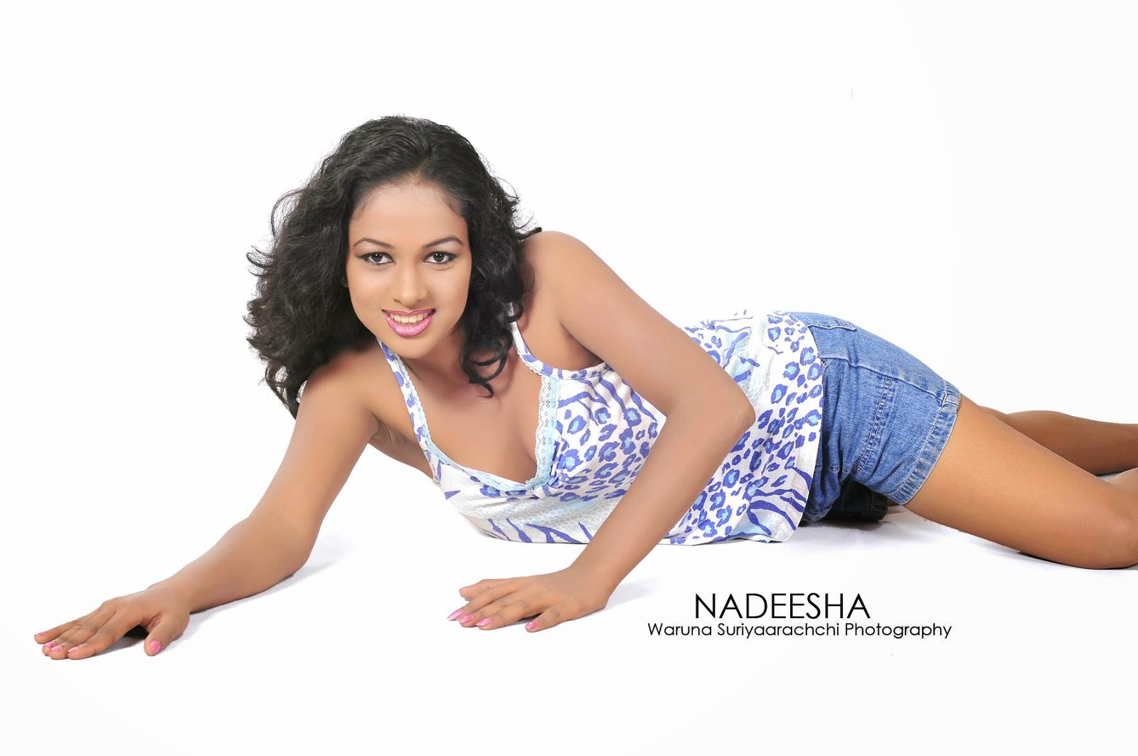 Nadeesha denim shorts