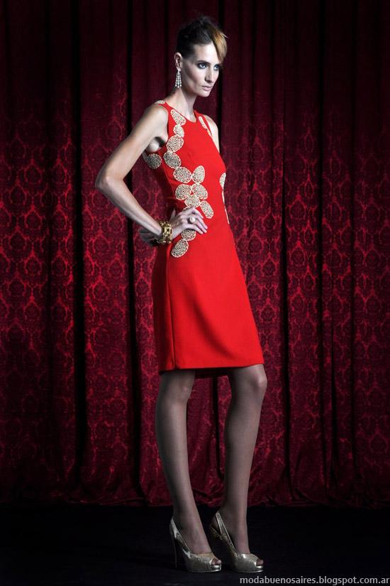 Moda invierno 2013 Solo Ivanka vestidos