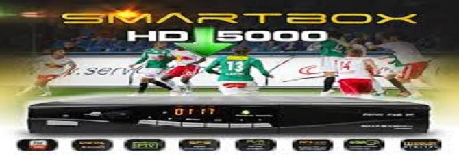 NOVA ATUALIZAÇÃO SMARTBOX HD 5000 - 19/02/2015