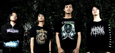 Djin Band Death Metal Medan Sumatera Utara Indonesia Foto Personil Logo Artwork Cover Wallpaper