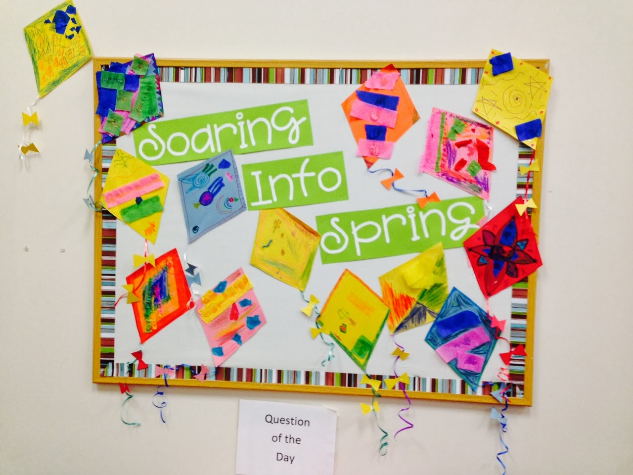 Two Spring Bulletin Boards The Crafty Teacher