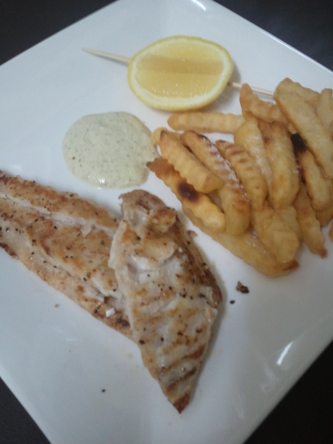 Bec cannon 39 s recipes pan fried fish for Pan fried fish recipe