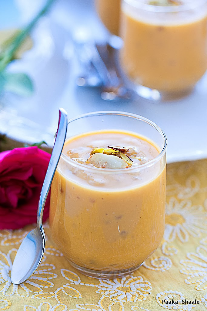 how to make mango tapioca dessert