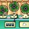 脱出ゲーム 3台の扇風機