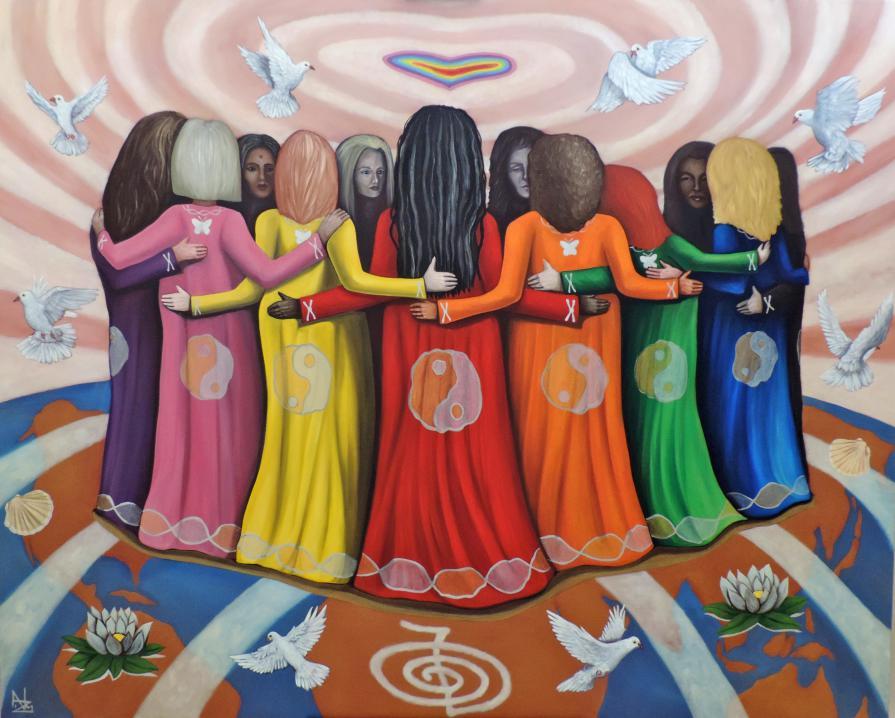 Hay una pacífica revolución en marcha, un moviemiento espiritual de mujeres. Jean Shinoda