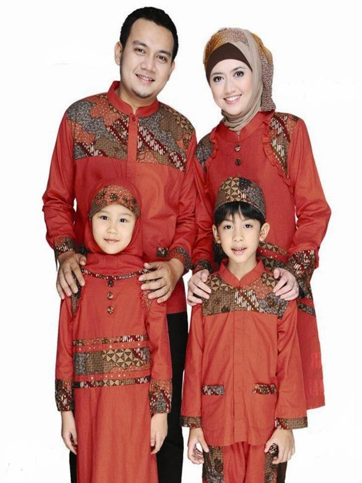 Modelbaju24 Model Baju Batik Muslim Sarimbit