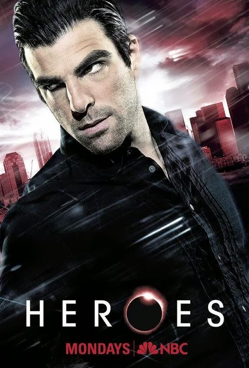 Heroes Sylar season 3 poster