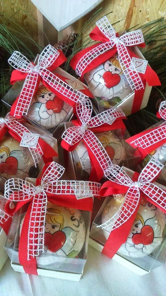 Matrimonio Natale Bomboniere : Ceramica come mestiere bomboniere per battesimo palline