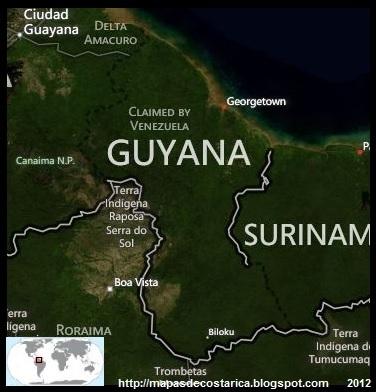 GUYANA, Vista aérea de GUYANA, BING